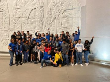 Students at Kennedy Space Center