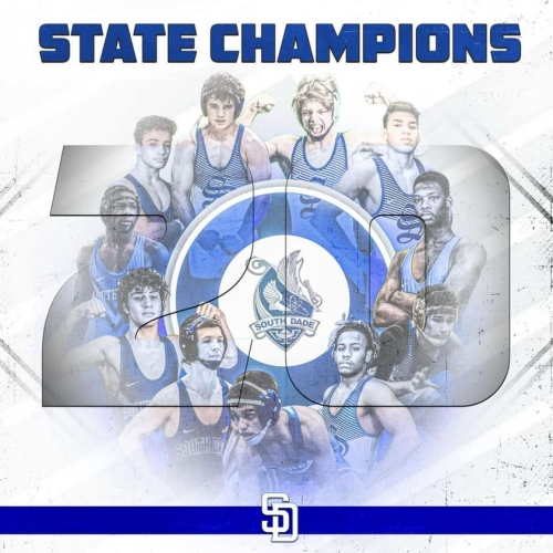 Wrestling State Champs